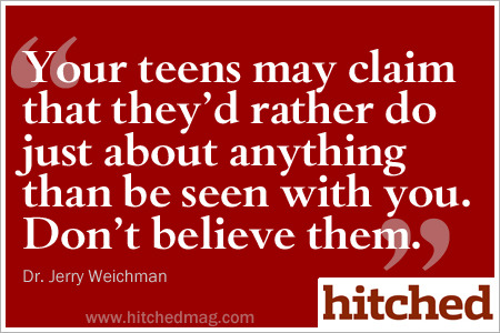 Parents: Your teens need you.