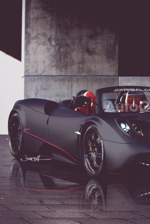 passion-sport-motors:  Pagani Huayra Roadster
