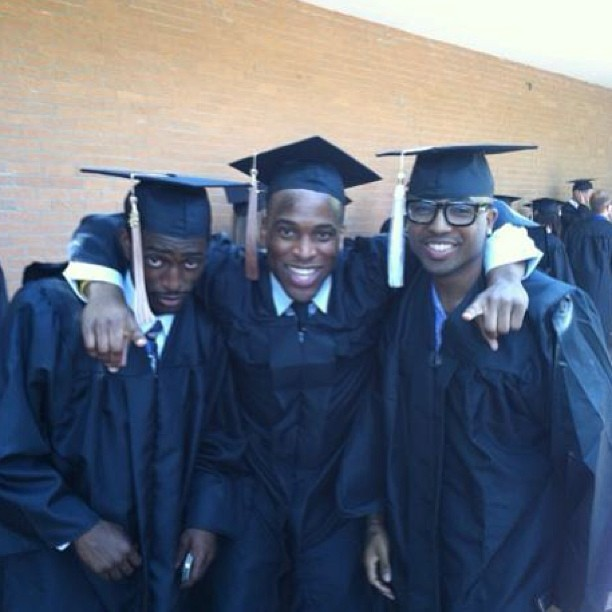 #graduation my Bball teammates from past seasons #brothers