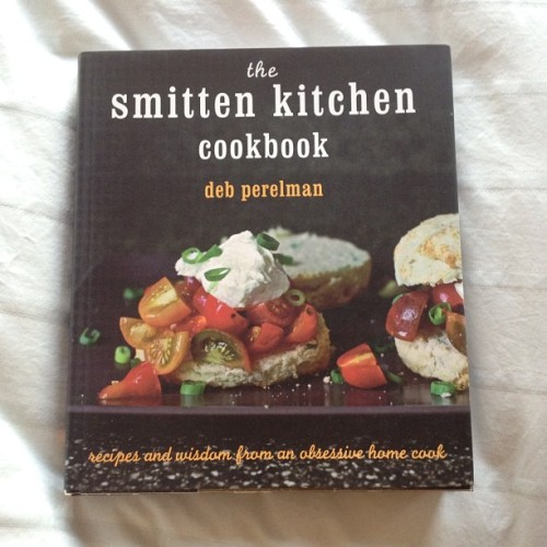 Smitten Kitchen Cookbook is my first cookbook purchase ever AND I'm halfway through reading it cover to cover. I've not turned on an oven yet but I'm several degrees closer. #food #books