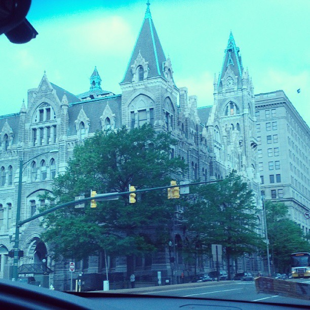 One reason why I love Richmond. Princess castle.<3