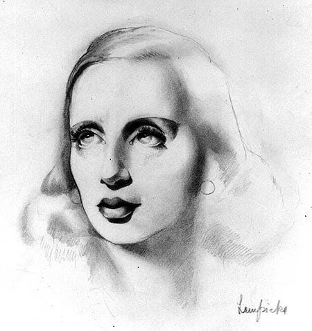 self-portrait by tamara de lempicka, 1939