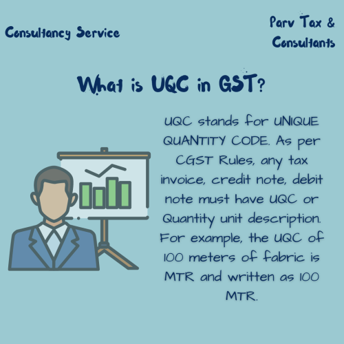UQC is a measuring quantity under the GST system for a standard use by all taxpayers. Its application is found not only on the GST portal but also in e-way bills and e-Invoicing systems. Hence, it is important for GST registered taxpayers who are into supply of goods. #gst act#gst returns#business updates#businesswomen #helping one another #growwithus