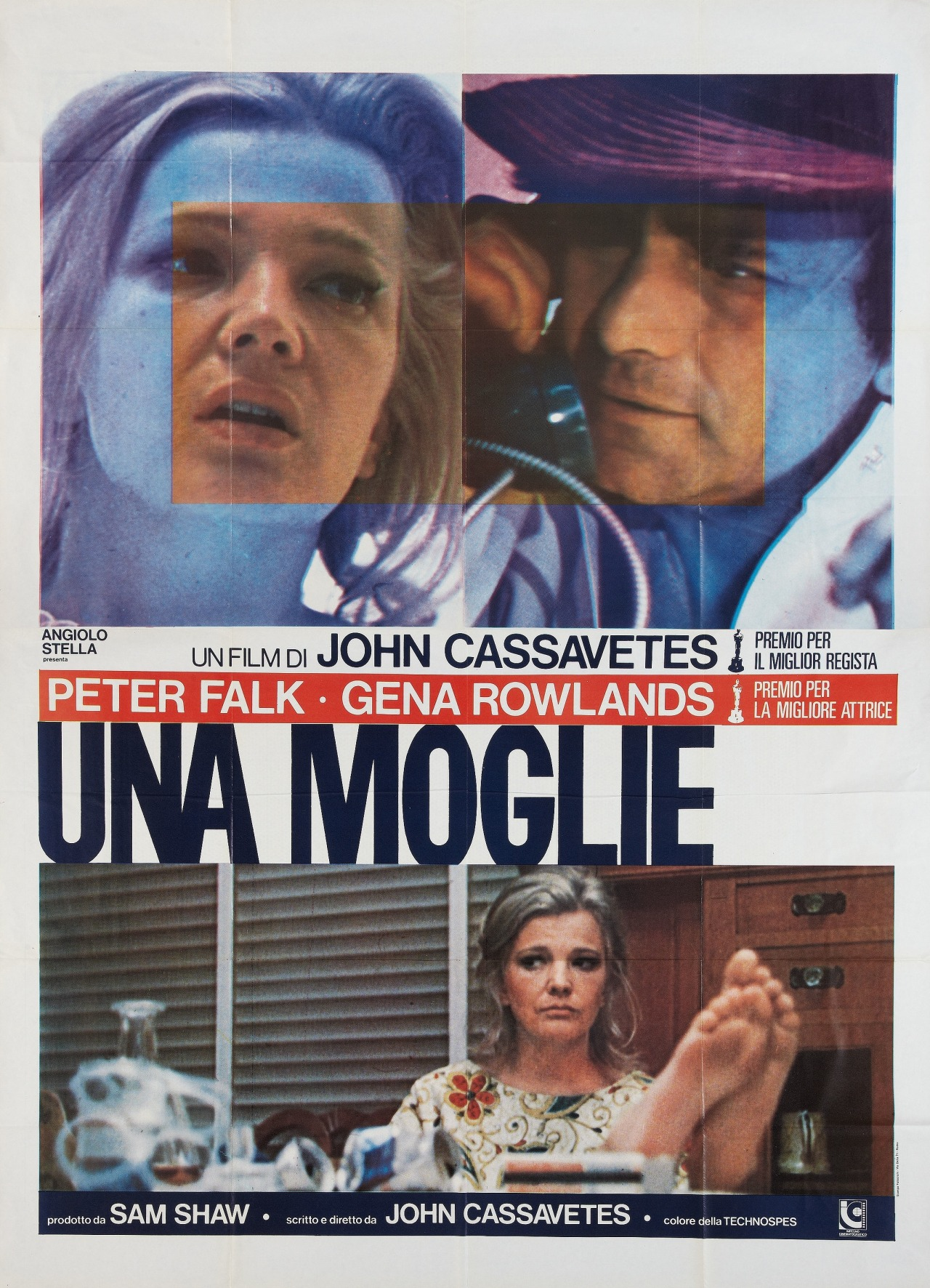 wandrlust:  Italian Poster for A Woman Under the Influence (John Cassavetes, 1974)
