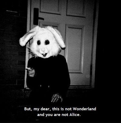 unbreakablemjj:  This is not Wonderland