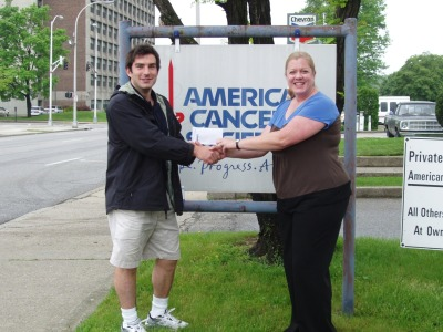 Thanks to Kim at the American Cancer Society! We donated $205 dollars!