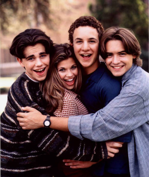 followyourbliss: Boy Meets World then they were growing up
