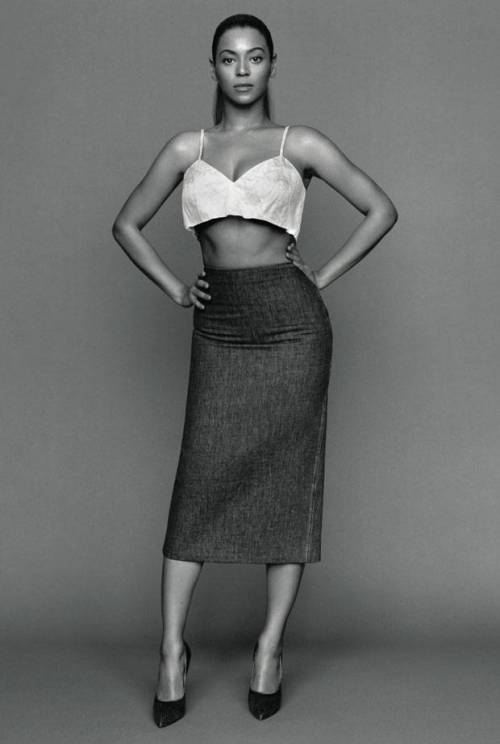 sfilate:  Beyonce by Alasdair McLellan for The Gentlewoman S/S 2013