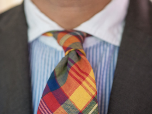 Double Four-in-Hand and Madras Plaid.