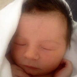 Julie and I would like to introduce Chloë Cairns Howatson… Oh hai! (at BC Women's Hospital)