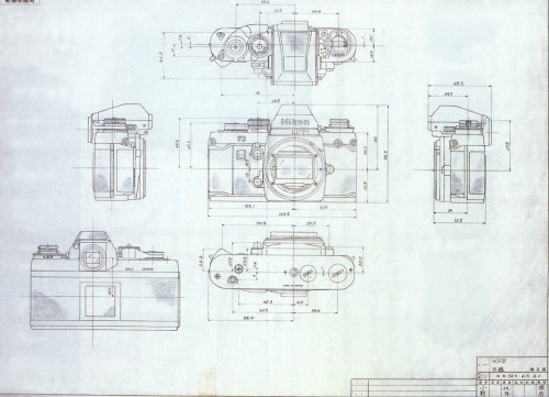 fromand:  nikon f3 blueprint