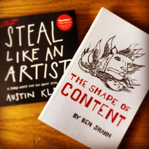 New Reading Material #BenShahn, #AustinKleon