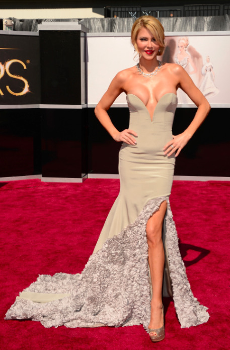 As If It Wasn't Offensive Enough That Brandi Glanville Got An Oscars Invite, She Wore This Dress