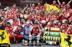 formula1-by-me:  Ferrari Team, Spanien GP