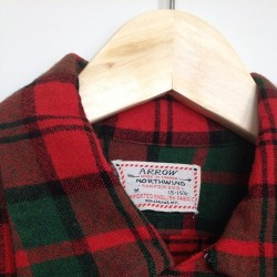 vintage arrow northwind sanforized flannel #vintage #thrifted #forsale #flannel #plaid