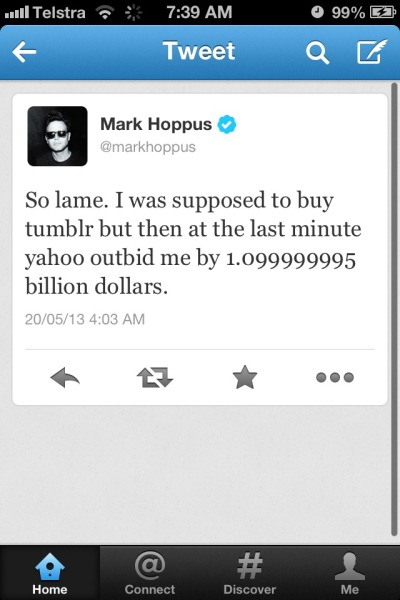 maydaysituationoverlode:  Imagine if Mark Hoppus bought tumblr…