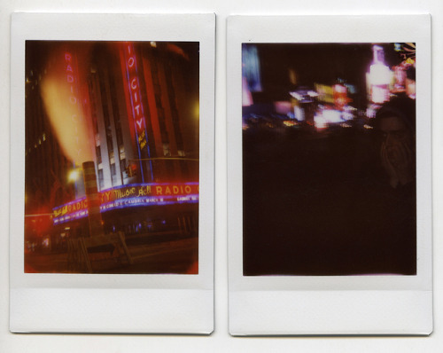 Radio City Music Hall Instax Diptych on Flickr.