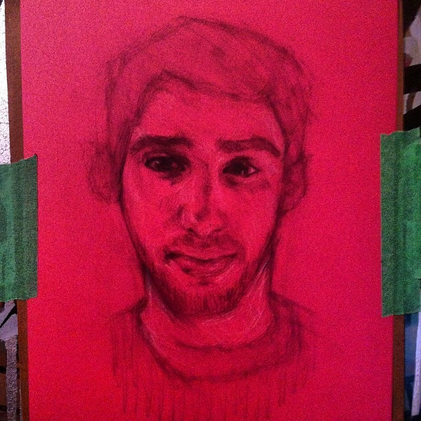 Quick unfinished sketch of this fuckin guy @j_mendelson #art #awonderfulmistake #portrait #drawing #sketch #artwork