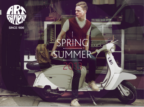 AGC spring/summer collection 2013 - now online! Order your high-quality clothing delight HERE