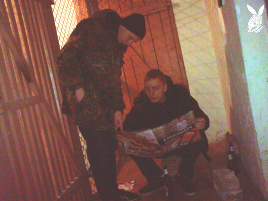22-FEBRUARY-2013 , HIDEOUT, BRICKS AND LEAFLETS \w BART