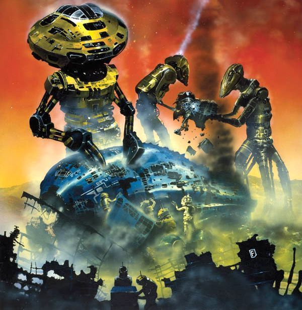 70s Sci Fi Art Chris Foss: CHRIS FOSS Christopher Foss Is A British Artist...