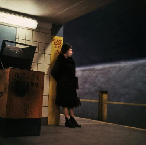 fotojournalismus:  Subway. New York City, 1966. [Credit : Danny Lyon]