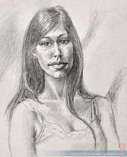 Study 1446  Graphite on paperby Richard White
