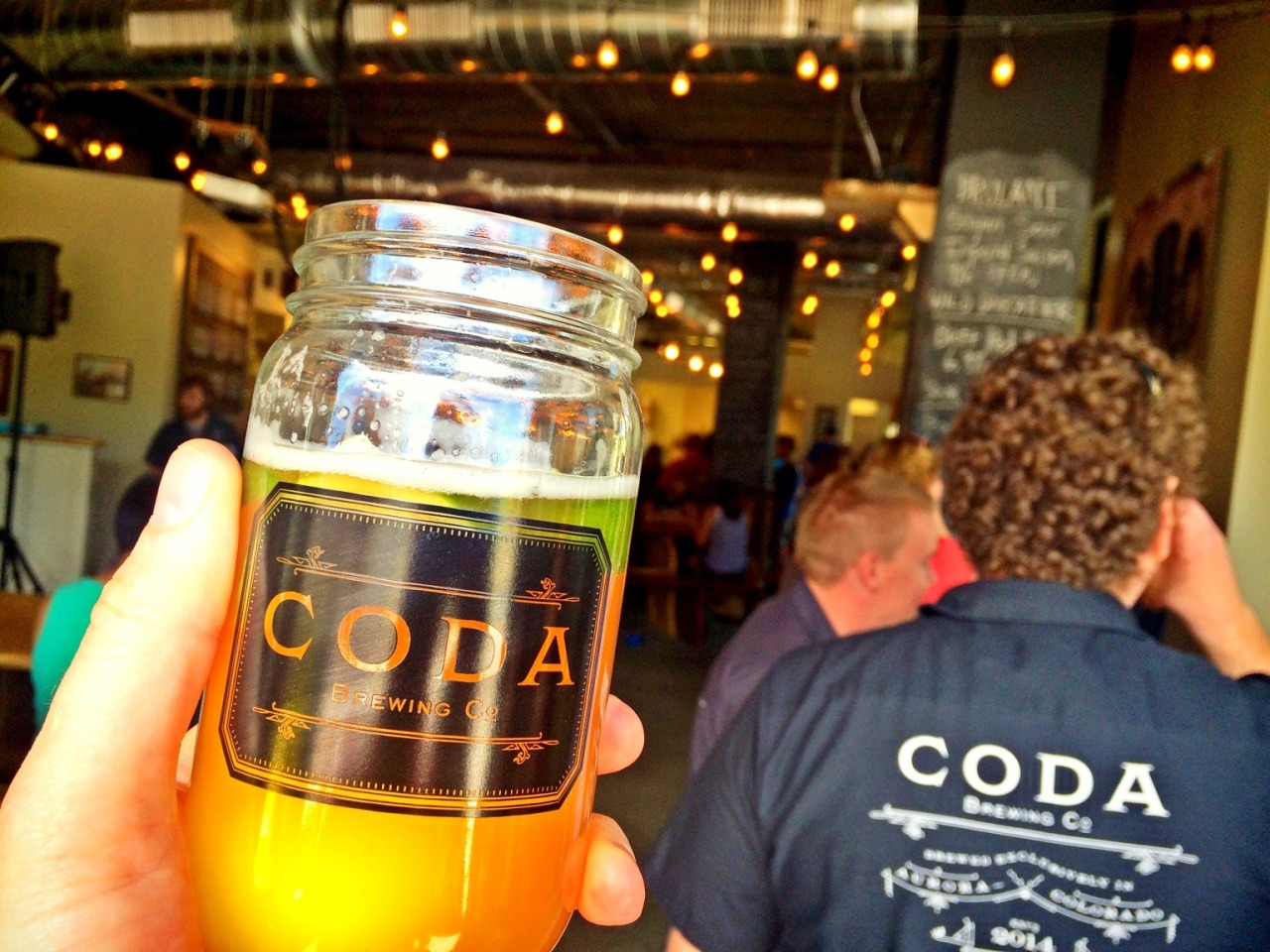 1 year!! at Coda Brewing CO. – View on Path.