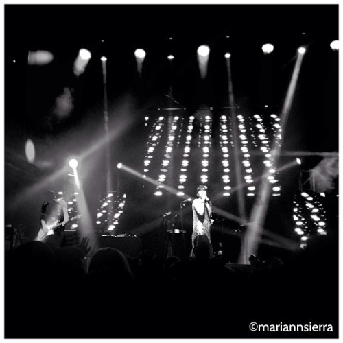 #bombaestereo #concert #stage48 #nyc #blackandwhite #colombia #instagram #iphoneography #newyorkcity (at Stage 48)