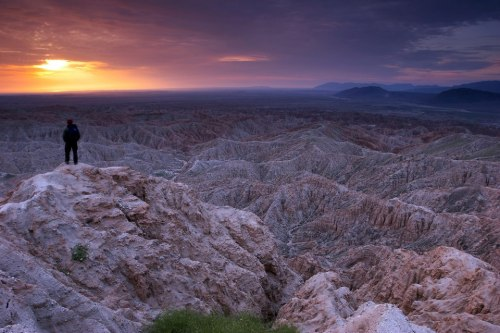 Overlooking the badlands at Anza-Borrego Desert State Park in Southern California on the eastern edge of San Diego County. Add it to you list at www.tripbucket.com