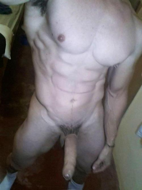 corbeauxtube:  Cut abs and uncut cock — perfect combination.