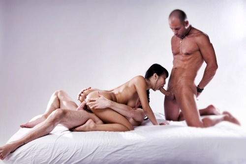 The challenging question put forward by threesomes — which man would I want to be in this picture?