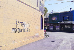 ritalin. matterson lane, redfern.