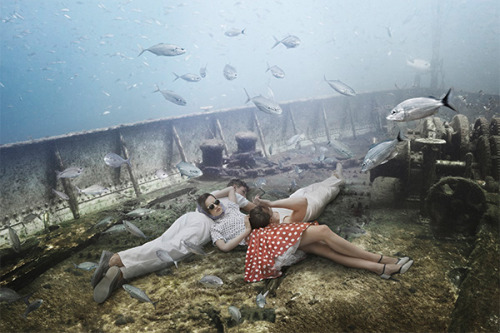 slowartday:  Andreas Franke, The Sinking World