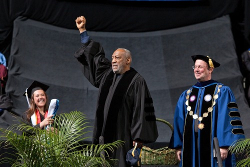 marquetteu:  Scenes from Commencement 2013. #mu13  freakin Bill Cosby at the MU Graduation. Congrats Grads