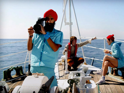 Vikram Ray - cameraman. Born on the Ganges.