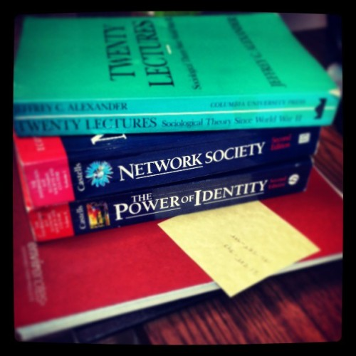 #books #thesis