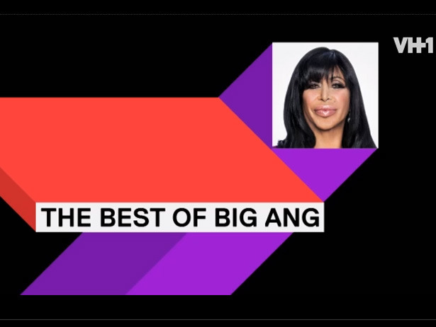 There's only been two episode of Mob Wives this season, and Big Ang is already filling a video with her best quotes.