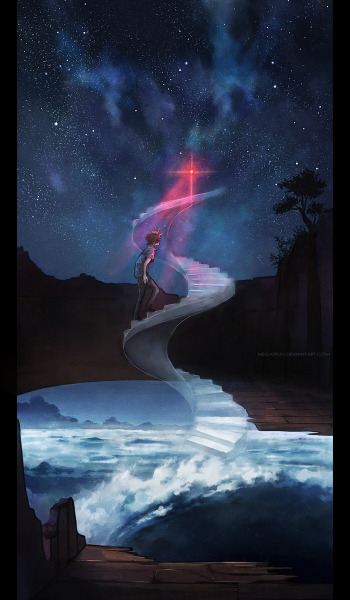 awesomedigitalart:  journey's beginning . by *megatruh