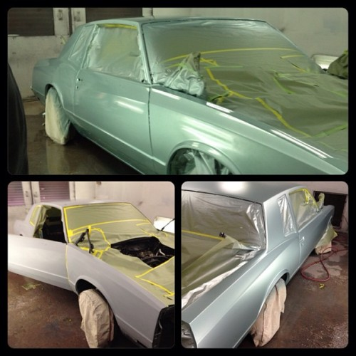 Progress #montecarlo #paintjob #groupe #tucson #lowrider