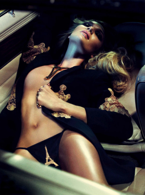 Candice Swanepoel by Sharif Hamza - Interview Germany June 2013