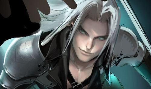 sephiroth Poster work in Progress.This is only a sneak preview and not the whole image.