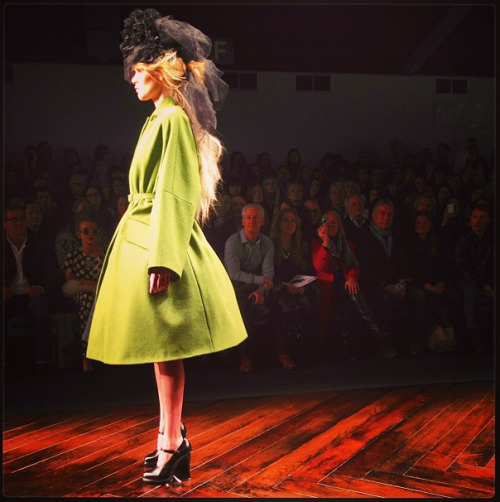 Going green at John Rocha.  Photographed by Andrew Bevan