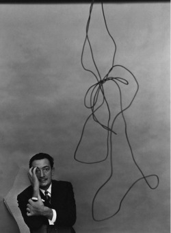 Salvador Dali, 1951, photo by Arnold Newman