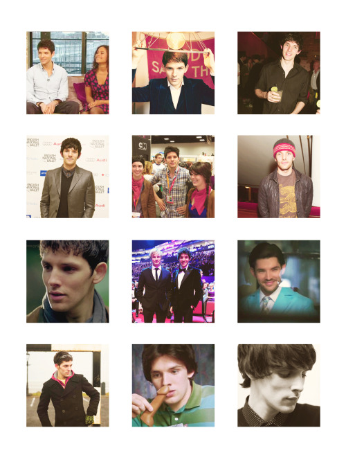 "eclipsing-emrys:  God must've spent a little extra time on you - Colin Morgan  ""My dad always says be nice to the people on the way up because you`ll need them on the way down.""  Don't forget to vote for Colin in the NTA's!"