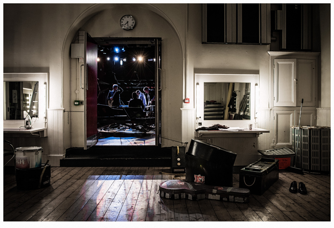 Backstage at The Playhouse, Derry/Londonderry  Photograph by Andrew Shaylor