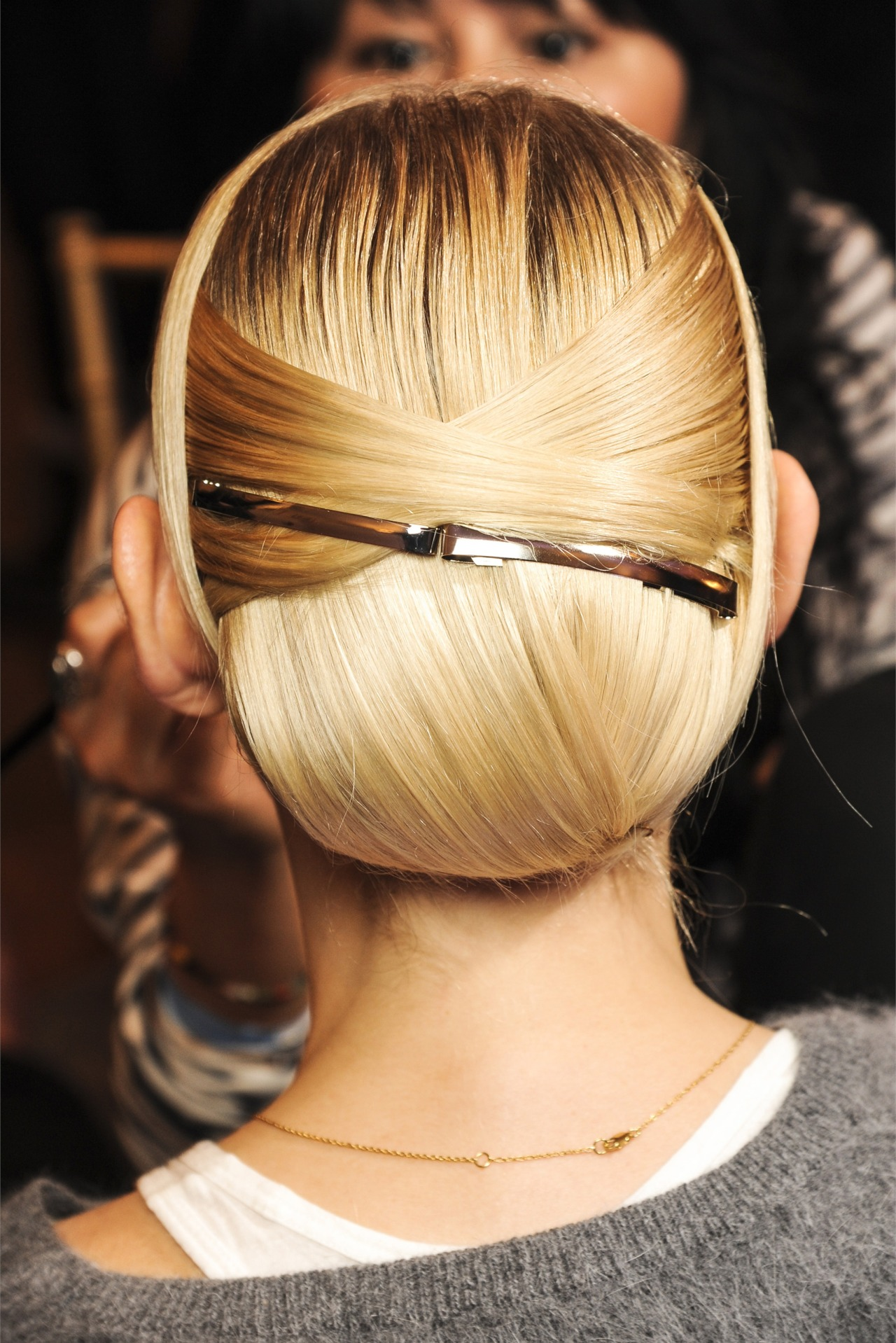 Perfect Hair @ Jason Wu F/W 13/14 nyfw Backstage