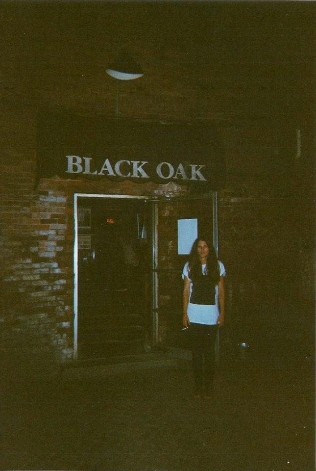 stevelayman:  Here's an old treat. Caro of Oathbreaker having a smoke outside of The Black Oak at their show in Oneonta last summer. Any of you who missed this show missed one of the most intense sets I've seen at the Oak (outside of Bacchus, that is).