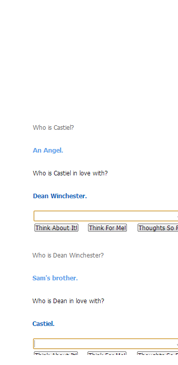 Cleverbot has spoken, my friends. It's obvious who is OTP is.