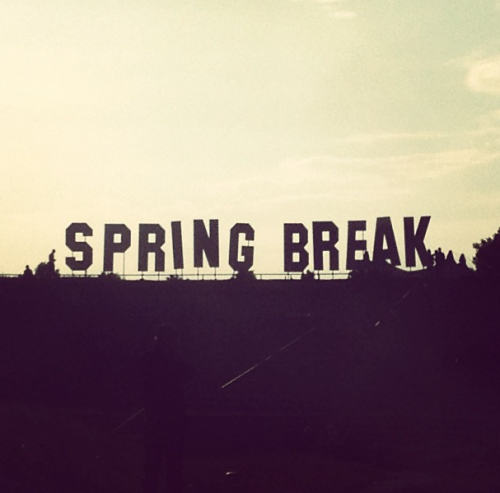 spring break.  photo: instagram / thisiscro